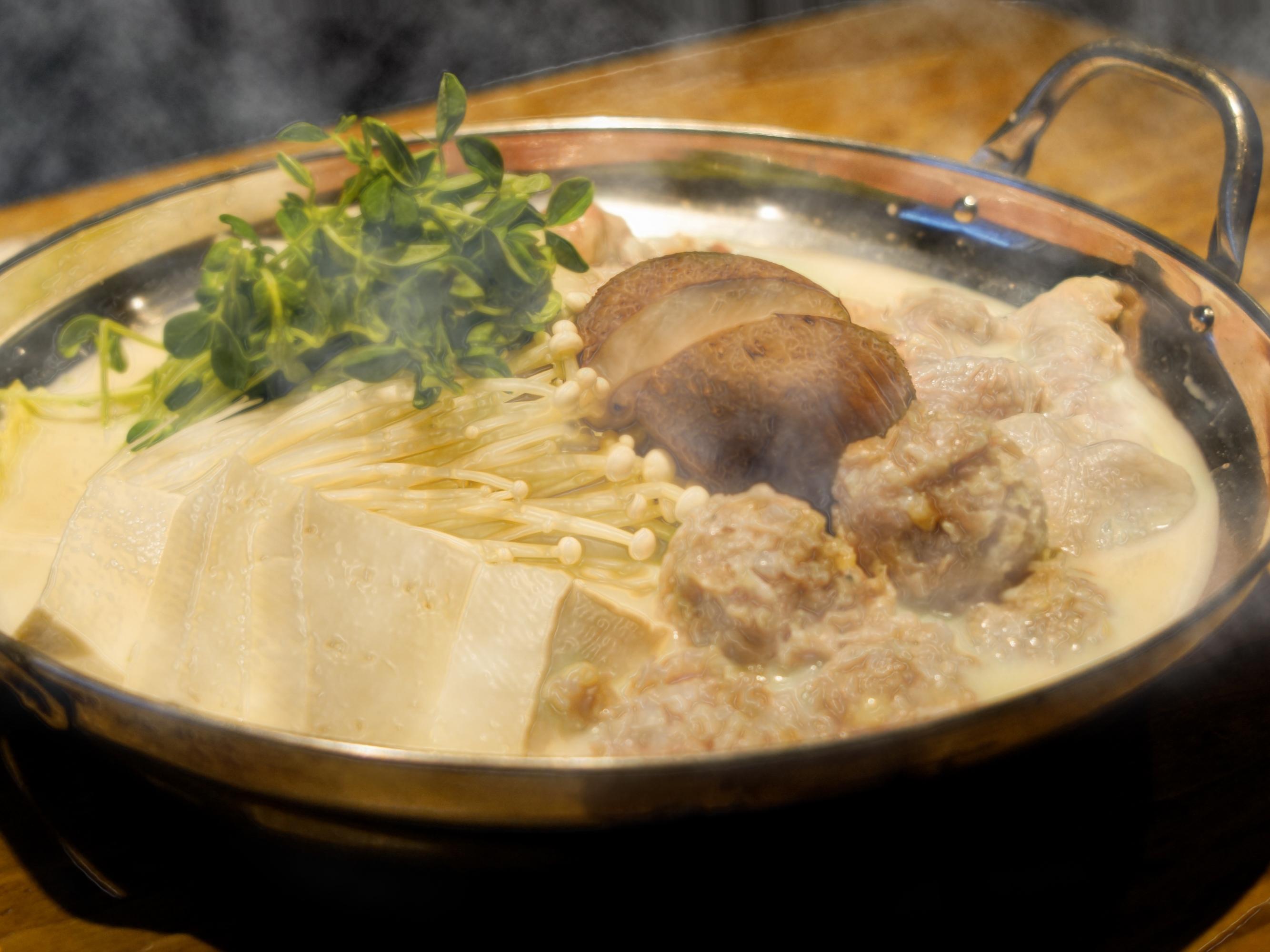 東京 亀戸 時代や 豆乳鍋